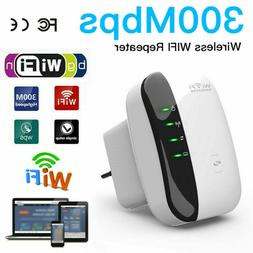 300Mbps Range Extender Signal Amplifier Booster WiFi Repeate
