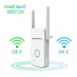 Comfast AC1200 Dual Band 2.4/5.8G Wireless Repeater,Wifi Sig