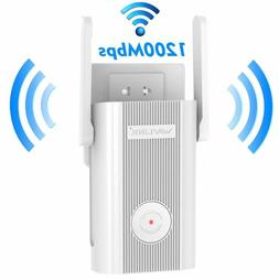 AC1200 WiFi Extender,Wavlink Dual Band 2.4GHz and 5GHz Avail