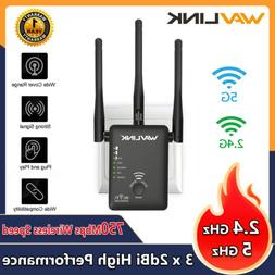 Wavlink AC1200 WIFI Repeater,2.4G&5G 1200mbps Router& Wirele