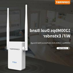 COMFAST 1200Mbps Dual Band Wireless Repeater WiFi Range Exte