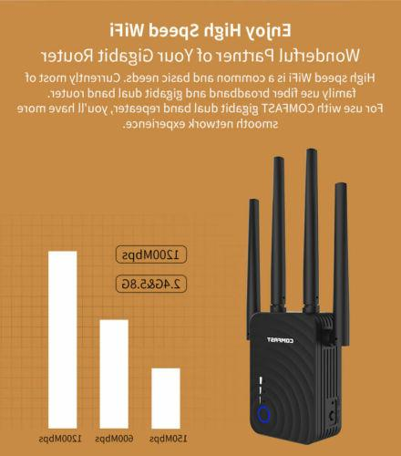 COMFAST 1200Mbps WiFi Repeater Signal