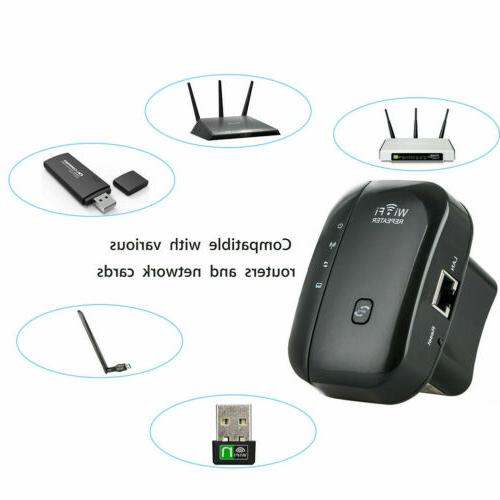 300Mbps Wifi Router Extender Signal Range Booster Amplifier