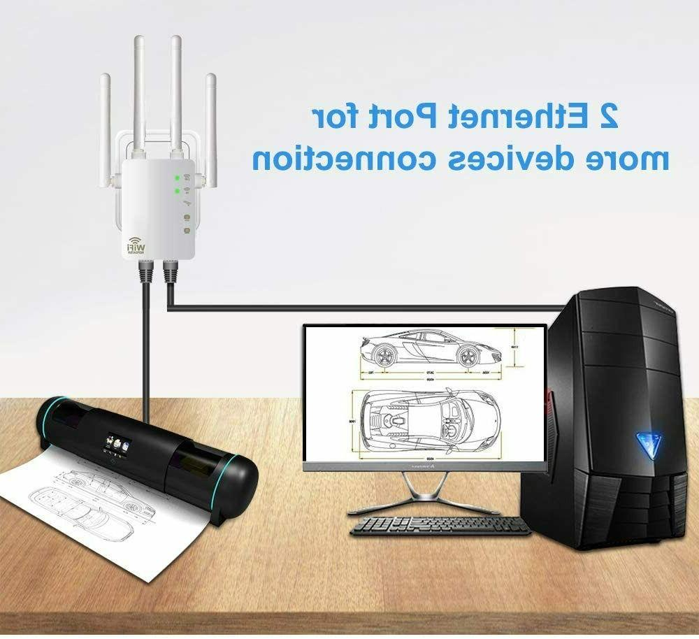 1200Mbps WiFi Dual Band Extender T6