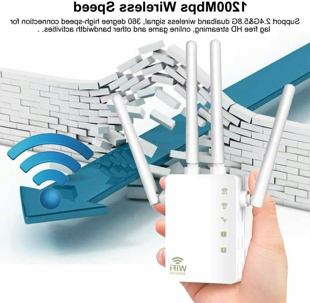 Band WiFi Booster/WiFi Extender 2.4&5GHz
