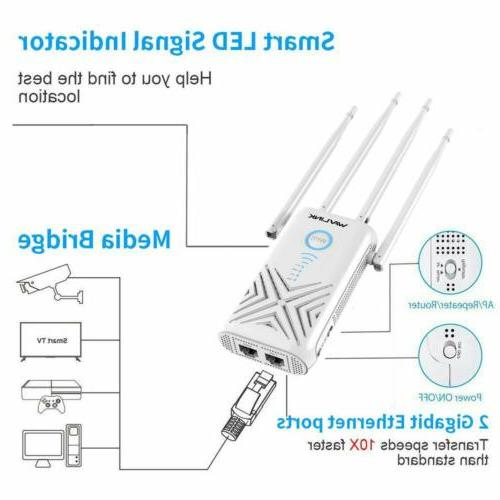 WAVLINK AC1200 WiFi Extenders Signal Booster 1200Mbps
