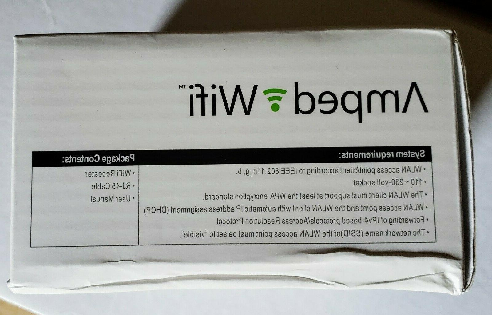 New Amped wifi Wireless Repeater $100