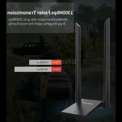 COMFAST WIFI Dual-Antenna 1300Mbps Wireless Signal Booster H6X6