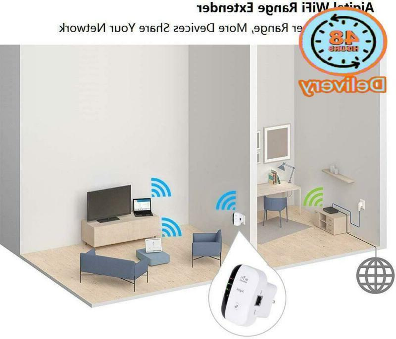 Wifi Extender, Aigital Wireless Booster Home 300Mbps Superboos