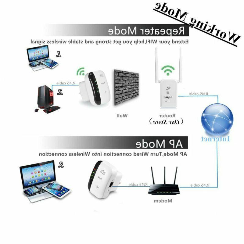 Aigital WiFi Extender 300 Mbps Signal Booster