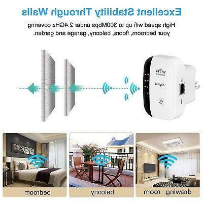 WiFi Extender Booster Range Amplifier with Ethe...