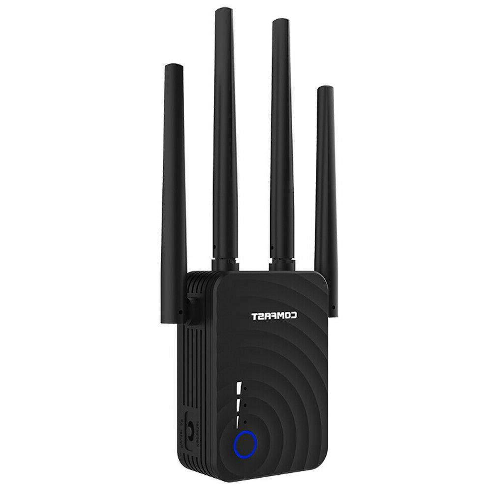 COMFAST WiFi Range 1200Mbps Mini Repeater 2.4GHz/5.8GHz Band