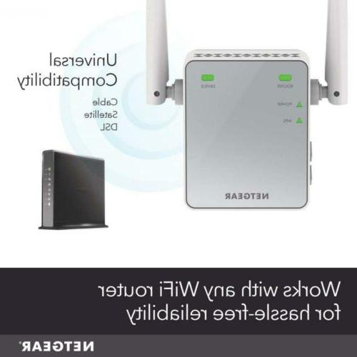 NETGEAR EX2700 to sq.ft. and 10...