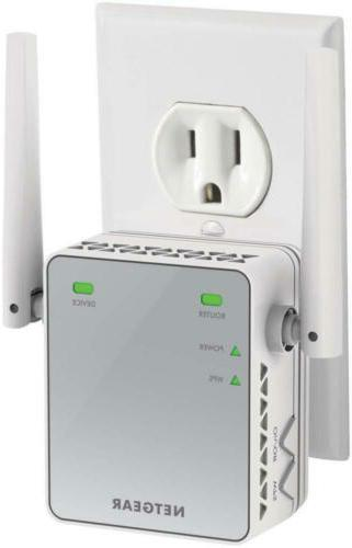 wifi range extender ex2700 coverage up to