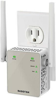 NETGEAR WiFi Range Extender EX6120 - Coverage up to 1200 sq.