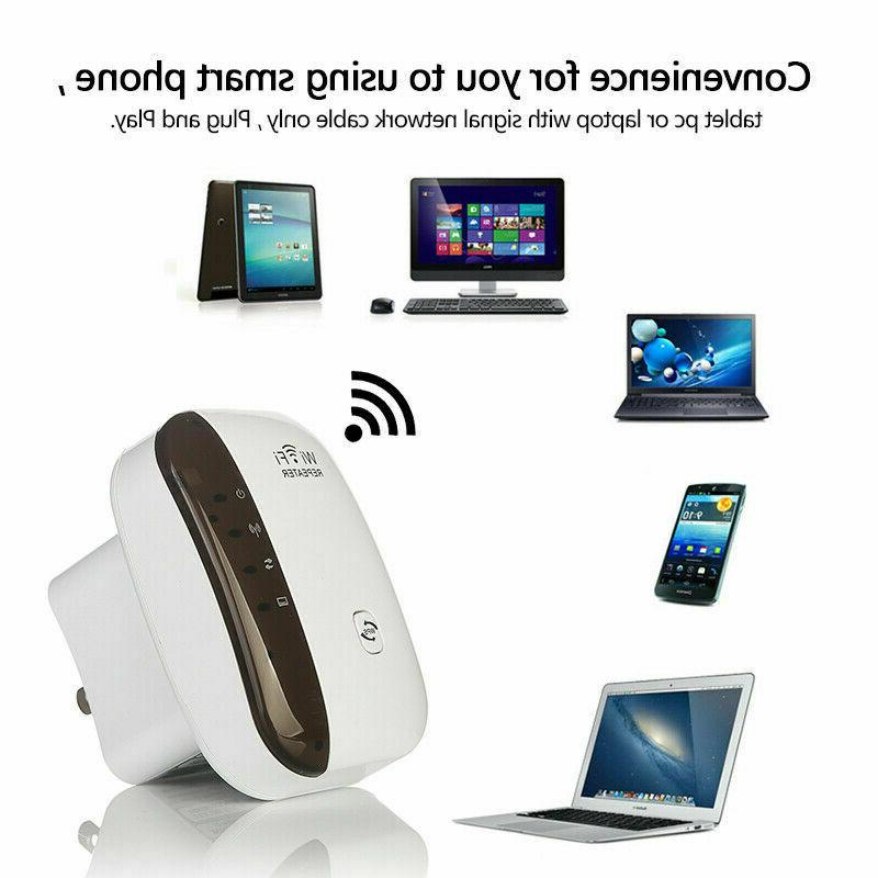 WiFi Range Internet Booster Network Signal Repeater