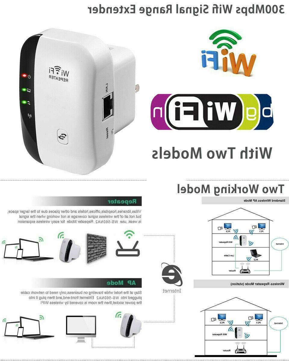 WiFi Range Booster Network Wireless Signal Repeater USA