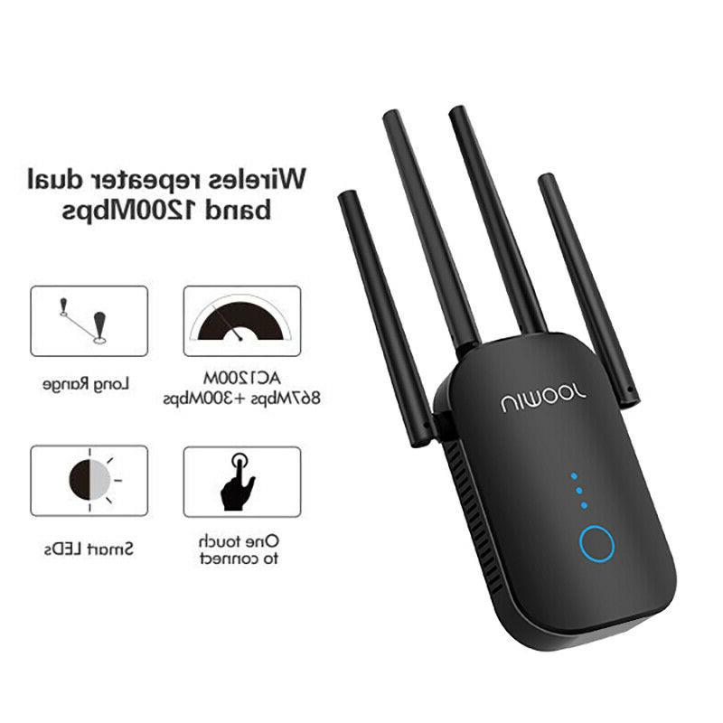 WiFi Range Signal Booster 1200Mbps Network Repeater
