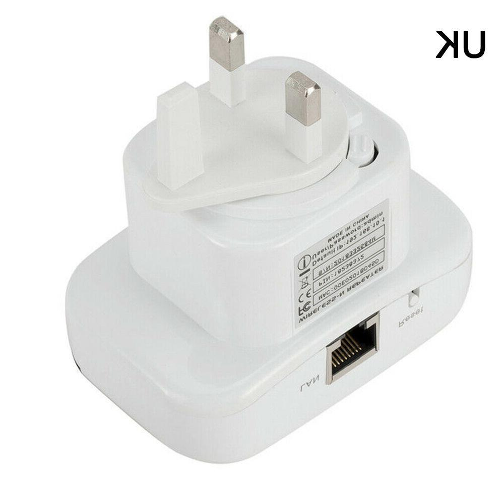 Wireless Wifi Range Extender Super Booster 300mbps Boost Speed USA