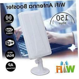 Long Range WiFi Booster Wireless Wi-Fi Repeater Router WLAN