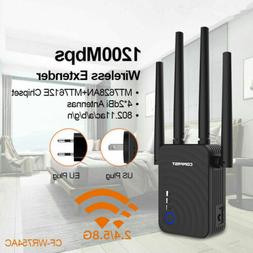 COMFAST WiFi Range Extender 1200Mbps Mini WiFi Repeater 2.4G