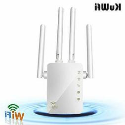 wifi range extender 1200mbps repeater with ethernet