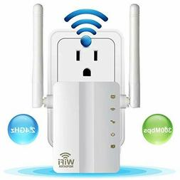 Aigital WiFi Range Extender 300 Mbps Mini Wireless Repeater