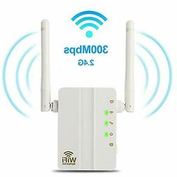 WiFi Range Extender - 300Mbps WiFi Extender Repeater/Access