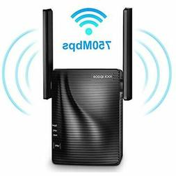 WiFi Range Repeaters Extender - 750Mbps Wireless Signal Boos