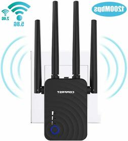 Wireless Signal Booster WiFi AC 1200 Dual Band Repeater Rout